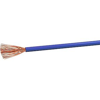 Flexible cable H07V-K 1 x 4 mm² Blue VOKA Kabelwerk
