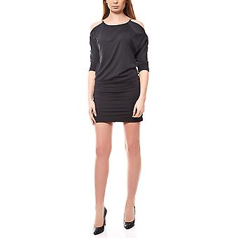B.c. by heine dress ladies shirt dress knee-length black chain elements