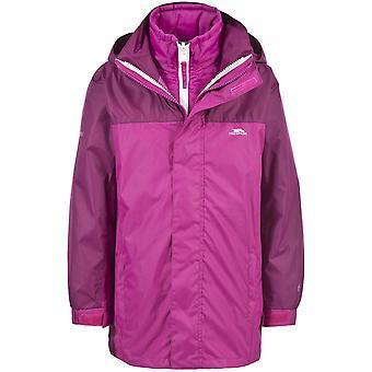 Trespass Boys Girls Maddox Waterproof Padded 3 in 1 Jacket