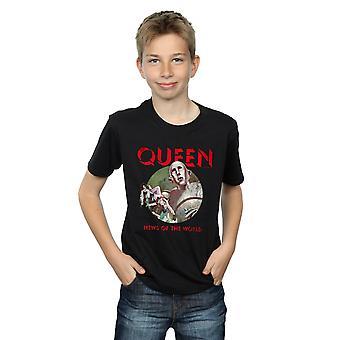 Koningin jongens nieuws van de wereld T-Shirt
