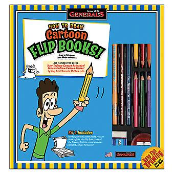 How To Draw Cartoon Flip Books Kit 69102