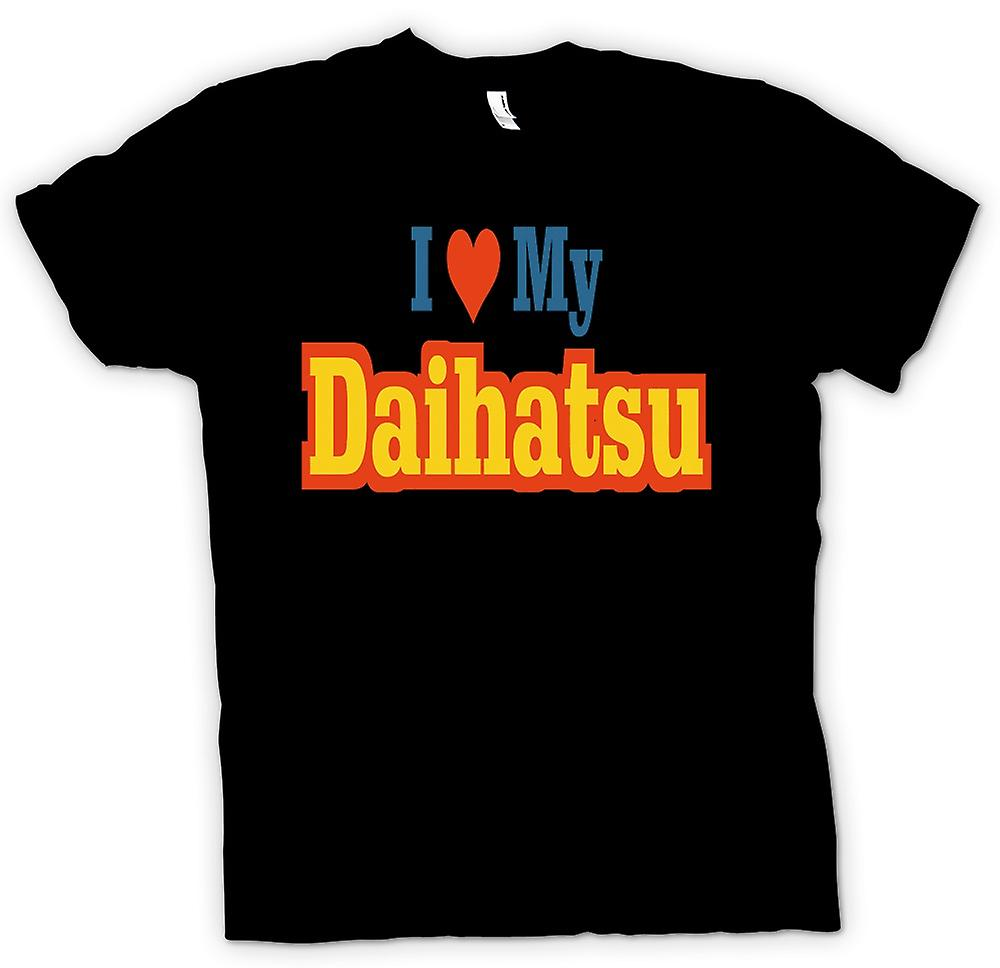 Kids T-shirt - I love my Daihatsu - Car Enthusiast