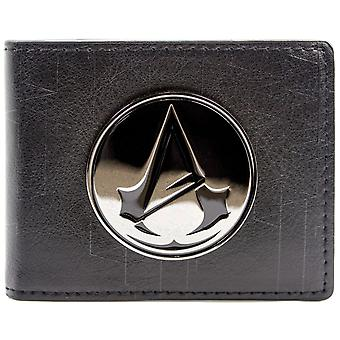 Ubisoft Assassins Creed unité symbole Badge ID & carte Bi-Fold Wallet