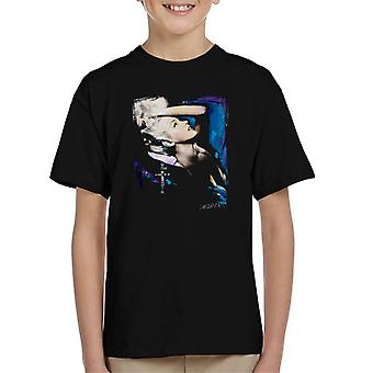 Sidney Maurer Original Portrait Of Marilyn Monroe Pose Kid's T-Shirt