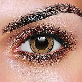 Big Eye Pretty Hazel Contact Lenses (Pair)