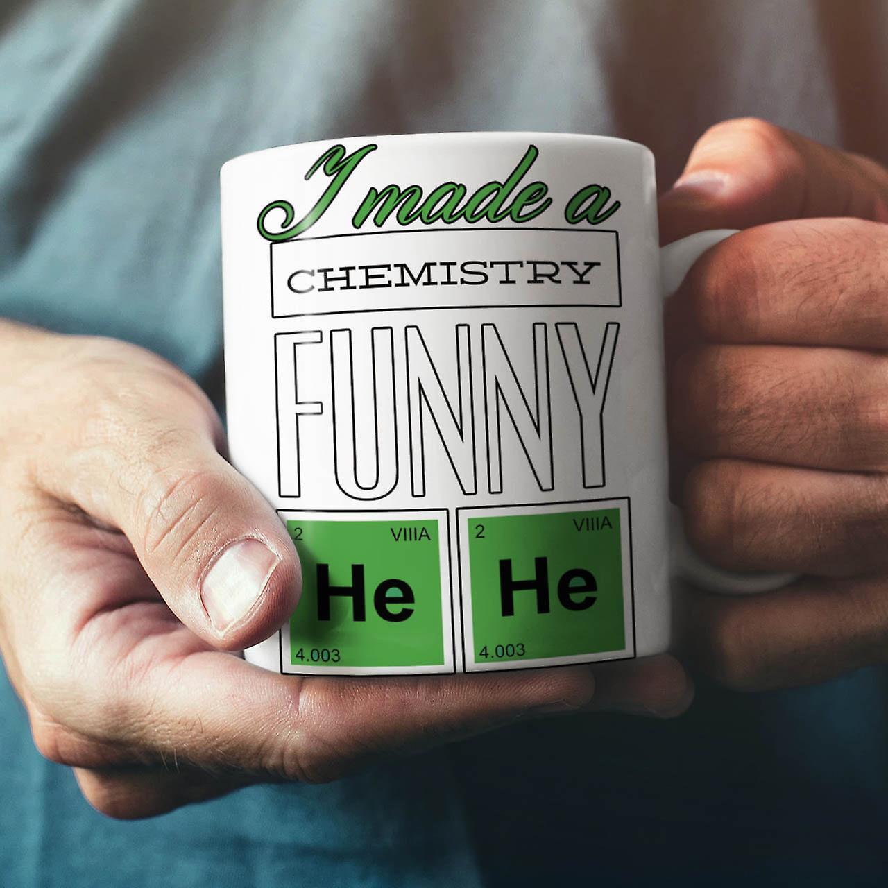Funny Chemistry Geek NEW White Tea Coffee Ceramic Mug 11 oz | Wellcoda