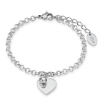 s.Oliver Jewel Damen Armband Edelstahl Herz SO1346/1 - 9023998
