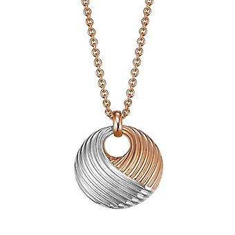 Joop women's chain necklace stainless steel Rosé WAVES JPNL10580A800