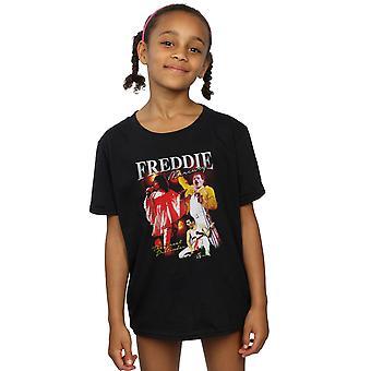 تي شيرت تكريم الملكة الفتيات فريدي ميركوري