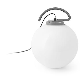 Wellindal Nuk Ball Orange 1 X E27 60W (Lighting , Exterior Lighting , Decoratives)