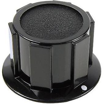 Cliff FC1610 Knob K1C 6.35mm Blk Screw Fix