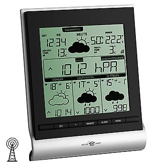 TFA weather station wireless, satellite-based professional weather forecast