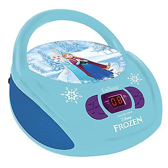 Lexibook RCD108FZ Portable Disney Frozen Boombox Radio CD Player