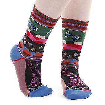 Tassel women's crazy combed cotton crew socks | French design by Dub & Drino