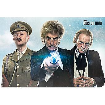 Doctor Who Poster Twice Upon A Time