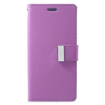 Mercury GOOSPERY Rich Diary till Samsung Galaxy S9 - Lila