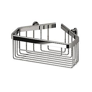 Large Deep Corner Basket Chrome 145003