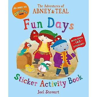Eventyr af Abney & krikand - sjove dage mærkat aktivitet Book af Joe