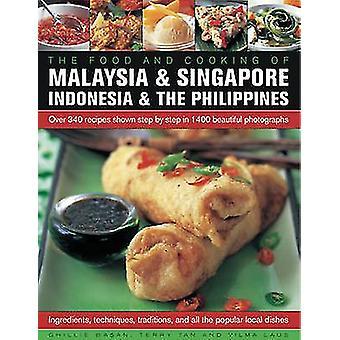 Das Essen und das Kochen von Malaysia & Singapur - Indonesien & der Philip