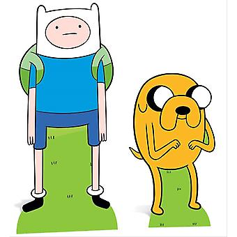 Finn and Jake from Adventure Time Cardboard Cutout / Standee / Standup Double Pack