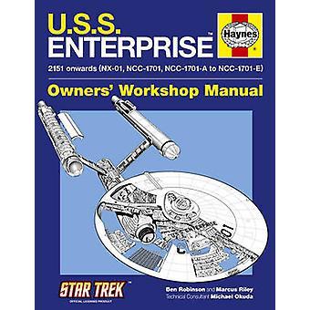 U.S.S. Enterprise Manual by Ben Robinson - Marcus Riley - 97818442594