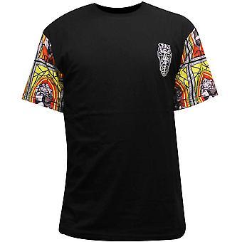 Skurkar & slott biskop mäns T-Shirt svart