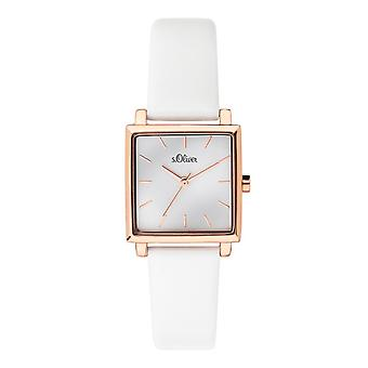 s.Oliver women's watch wristwatch leather SO-3709-LQ