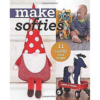 Make Softies: 10 Cuddly Toys to Sew (Make Series)