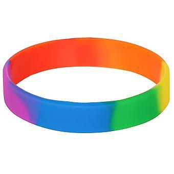 TRIXES 虹ノベルティ リストバンド高品質 LGBT プライド ・平和多様性シリコーン