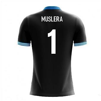 2018-19 Uruguay Airo Konzept Auswärtstrikot (Muslera 1) - Kinder