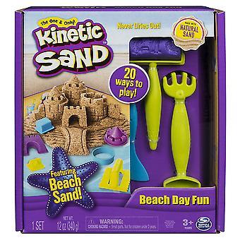 Kinetic Sand 6037424 Beach dag roligt Set
