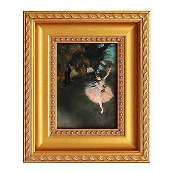 Ballett-Tänzerin, Edgar Degas, 9, 5 x 7, 5 cm
