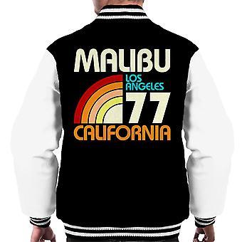 Varsity Jacket Malibu retrò 77 maschile