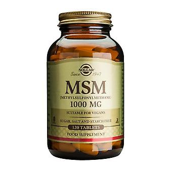 Solgar MSM 1000 mg tabletten, 120