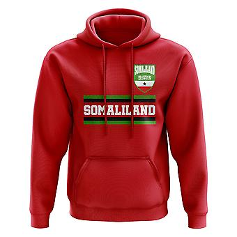 Somaliland Core Football Country Hoody (Red)
