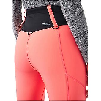 ONeill Neon Tangerine Pink Blessed Womens Snowboarding Pants
