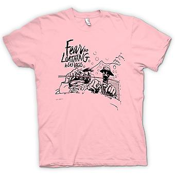 Mens T-shirt - Fear And Loathing - Cartoon - Funny