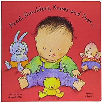 Head, Shoulders, Knees and Toes in French and English (Board Books)