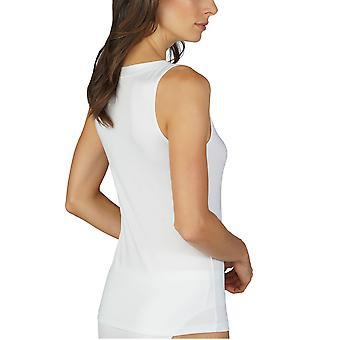 Mey Women 45868-1 Women's Mood White Modal Tank Vest Top