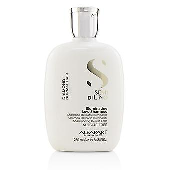 AlfaParf Semi Di Lino Diamond Illuminating Low Shampoo (Normal Hair) 250ml/8.45oz