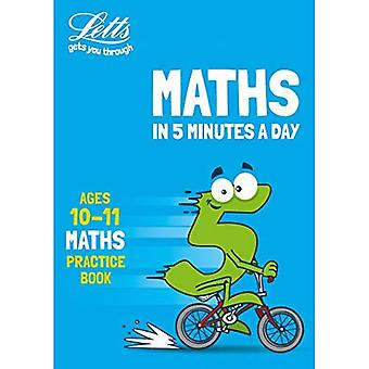 Letts Maths in 5 Minutes a Day - Letts Maths in 5� Minutes a Day Age 10-11 (Letts Maths in 5 Minutes a Day)