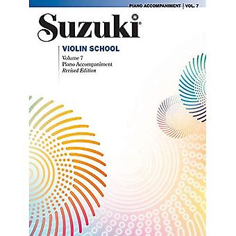 Suzuki Violin School, vol. 7: Piano Acc. (Suzuki Violin School)