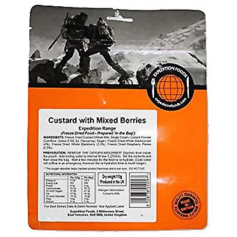 Expedition Foods No Colour Custard With Berries