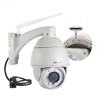 Eu plug sricam sp008b 720p wireless wifi ip camera ir night vision motion detection outdoor cctv camera