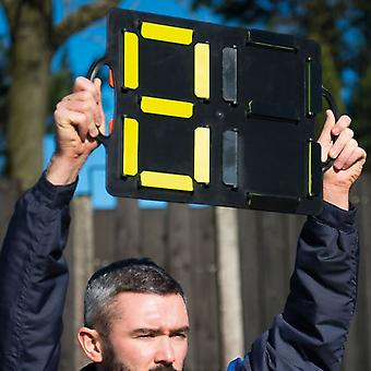 Precision Training Coaching Sports Football Substitutes Number Board