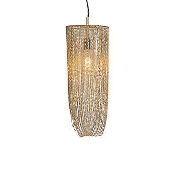 QAZQA Oriental hanging lamp gold - Catena Ferro