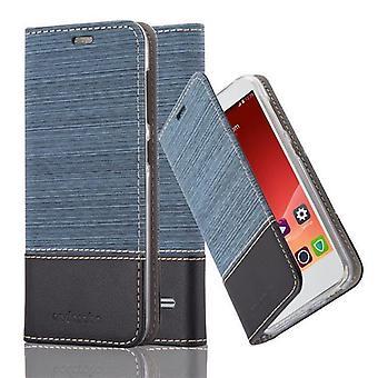 Cadorabo tilfældet for ZTE blade S6 sag Cover-telefon tilfældet med magnetisk lukning, stativ funktion og kort case rum-sag Cover sag sag sag case sag bog folde stil