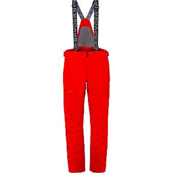 Spyder DARE hombres Gore-Tex PrimaLoft pantalones de esquí rojo