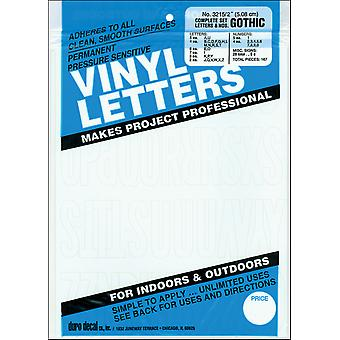 Permanent Adhesive Vinyl Letters & Numbers 2