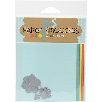 Papier Smooches sterven-Paw Print A2D255